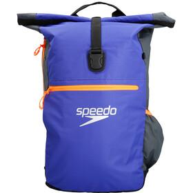 speedo Team III - Sac à dos natation - 30l gris/bleu